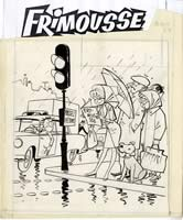NOEL GLOESNER - couverture pour Frimousse